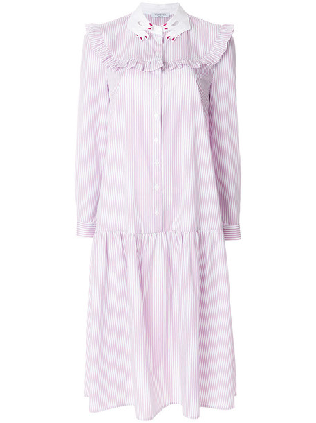 VIVETTA dress midi dress women midi cotton purple pink
