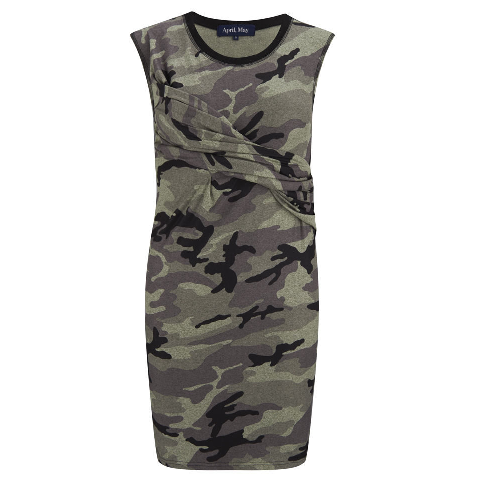 April, May Women's Angie Dress - Green Womens Clothing - Free UK Delivery over £50