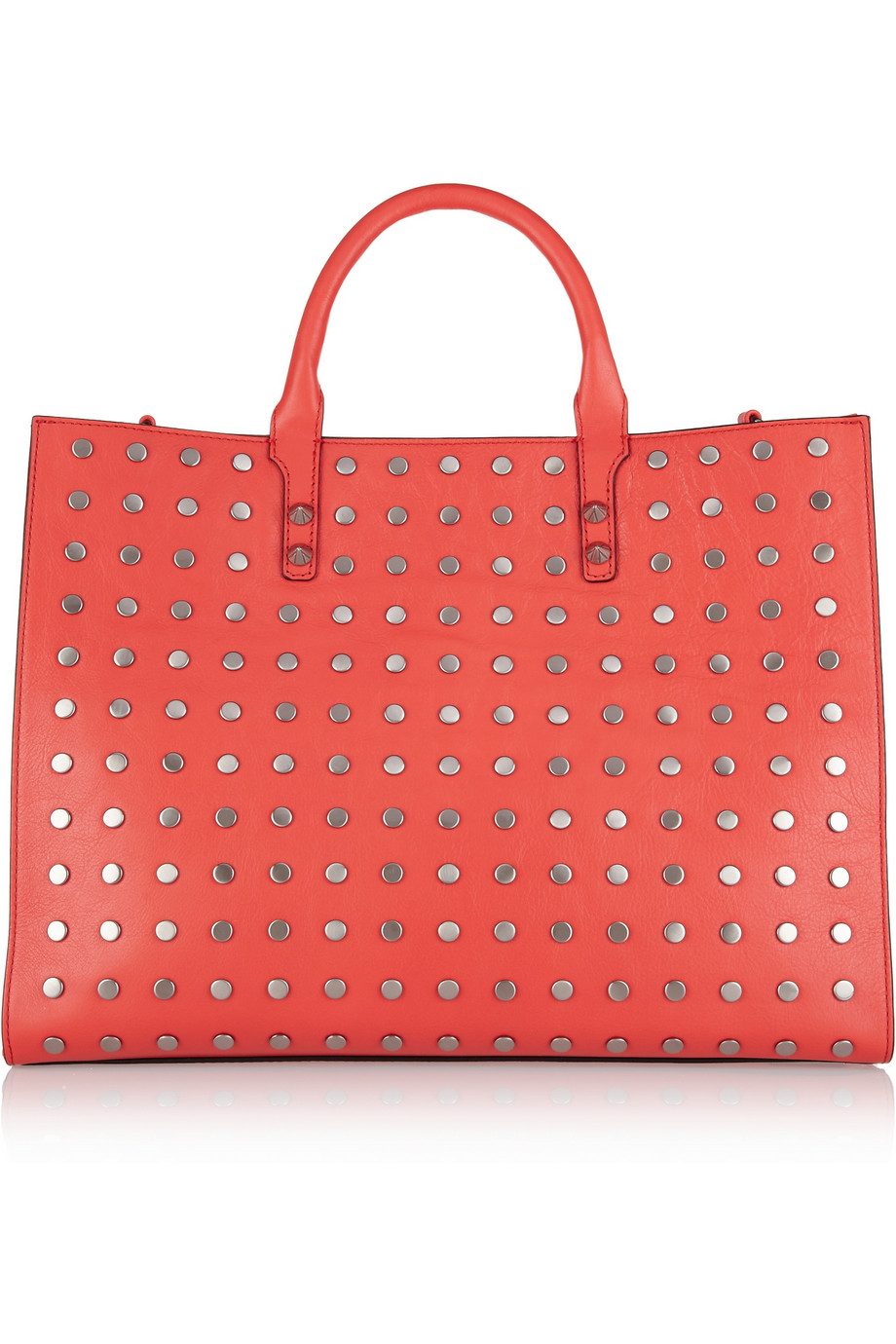 Grayson studded leather tote | Rebecca Minkoff | THE OUTNET