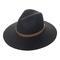 Dupree wool fedora hat in black at flyjane