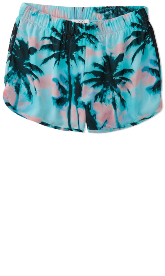 Forever 21 SS13 Tropical Print Shorts | Look