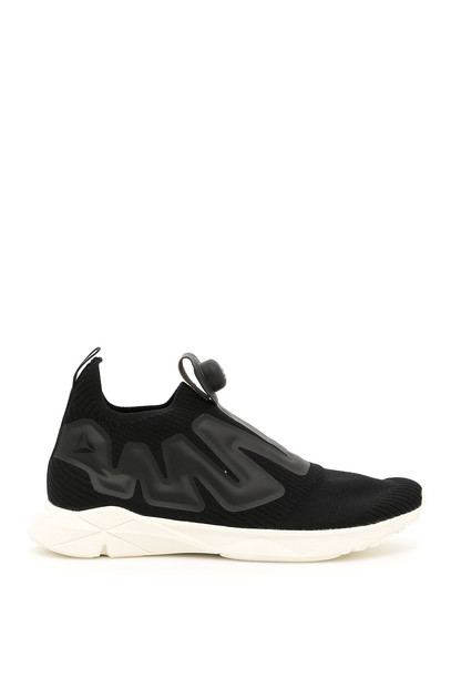 Reebok Unisex Pump Supreme Sneakers in black / white