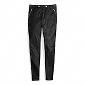 Coach :: LEATHER HIGH WAISTED TROUSER