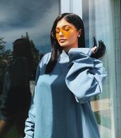 sweater,sunglasses,sweatshirt,kylie jenner,kardashians