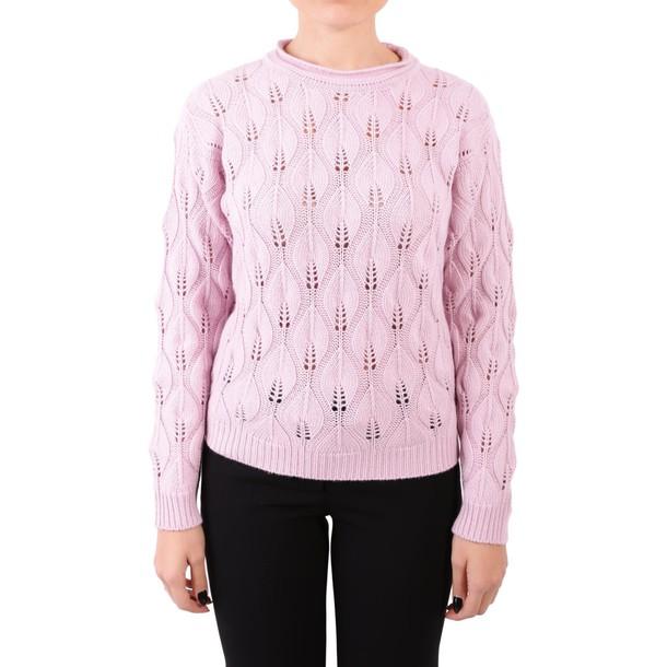 Blugirl sweater wool pastel pink pastel pink