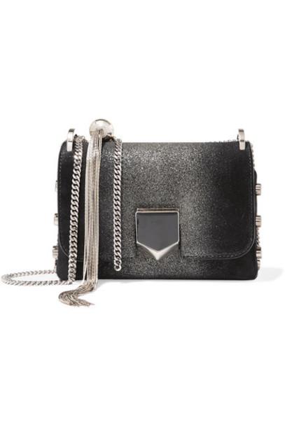 Jimmy Choo mini bag shoulder bag suede black