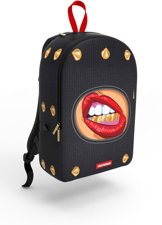 Amazon.com: sprayground cupcake mafia ski mask ghetto gold backpack: clothing