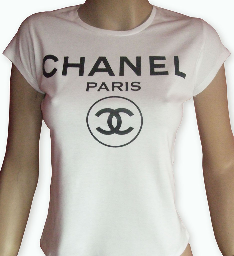 Lady 39 S White Chanel T Shirt