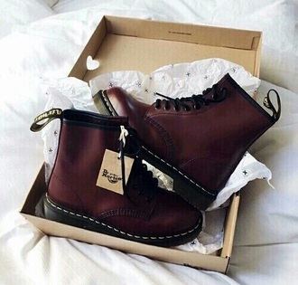 shoes shoes cute burgundy boots