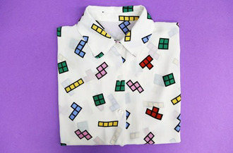 blouse colorful patterns