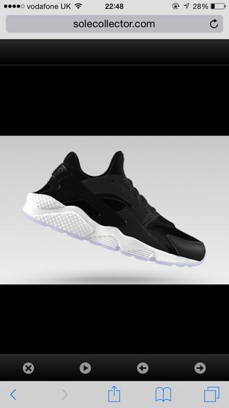 shoes trainers huarache nike air nike running shoes tumblr outfit tumblr shoes nike trainers