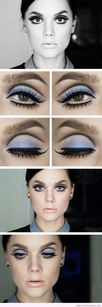 make-up linda hallberg eyelines make-up color/pattern