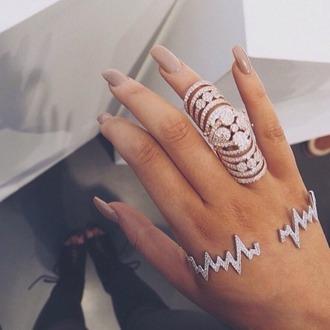 jewels bracelets silver gold lovely beautiful nice modern