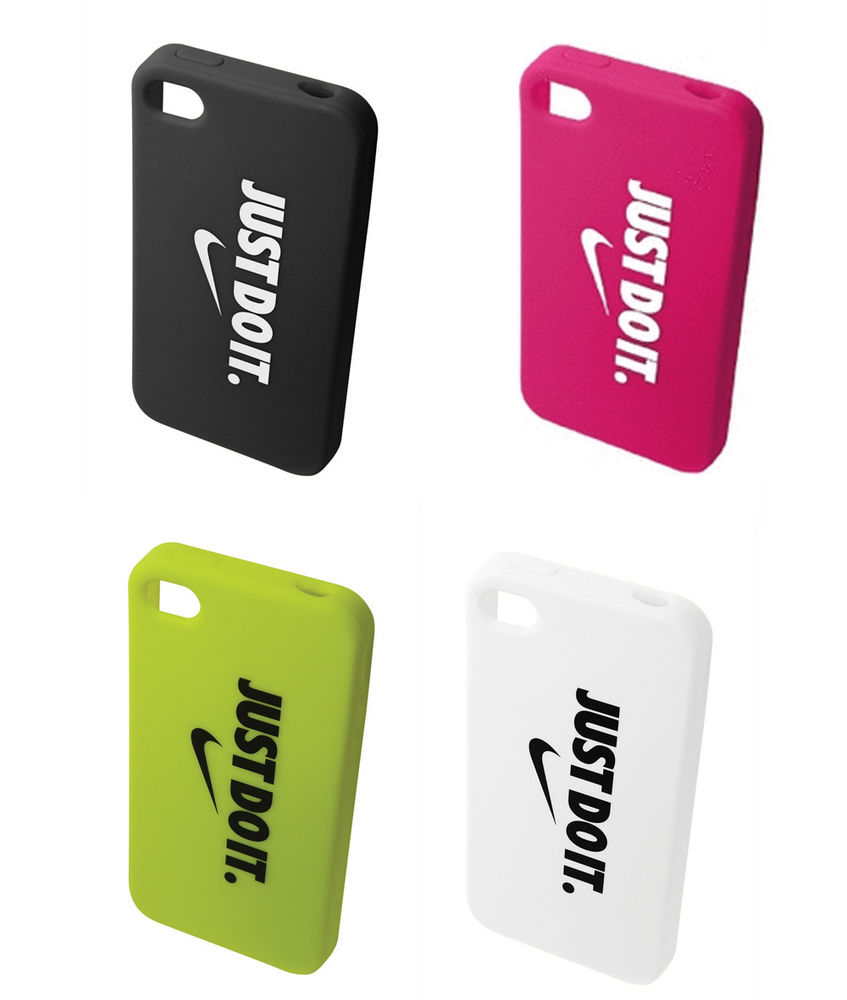 NEW NIKE JUST DO IT OFFICIAL ORIGINAL GRAPHIC SOFT IPHONE 4 4S ...