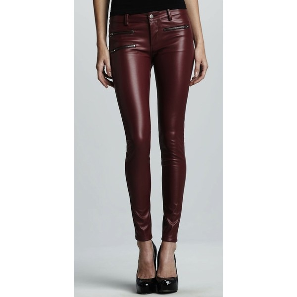 Kylie Jenner Wears Parker Faux Leather Pants and Christian L... - Polyvore