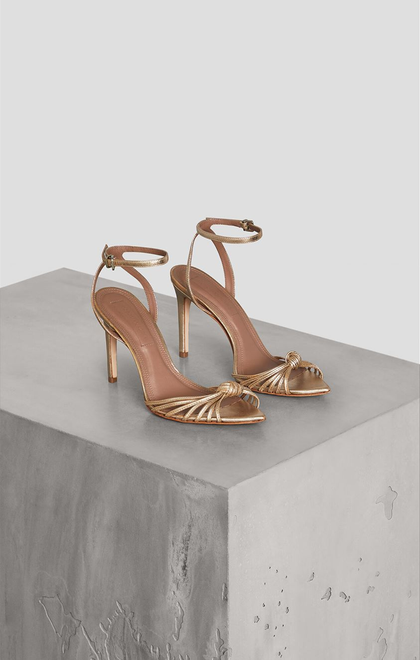 Delia Knotted Sandal
