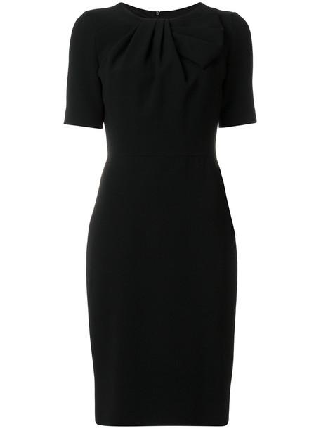 BOUTIQUE MOSCHINO dress short sleeve dress short women black