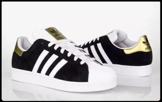shoes adidas black and white