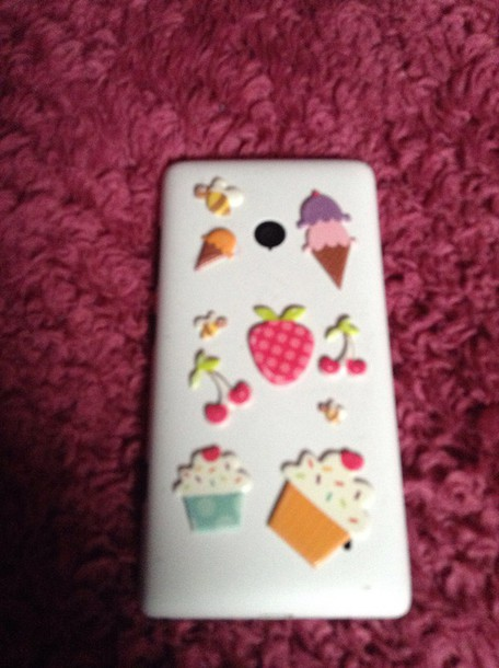 phone cover just use stickers from joans