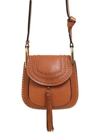 studs bag leather bag leather brown