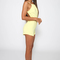 Miami party playsuit - yellow