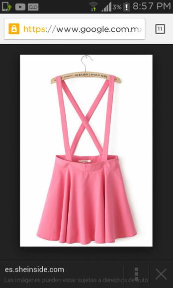 pink dress bag