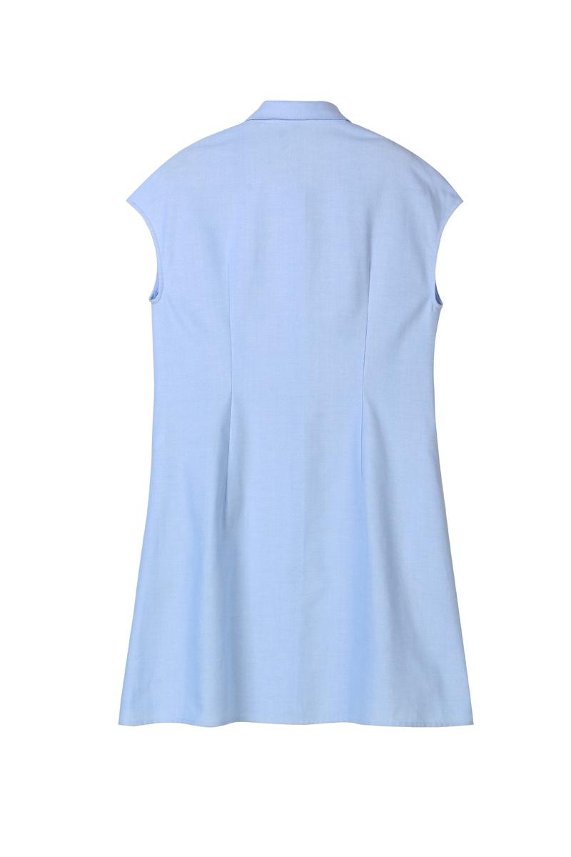 A-line shirt dress