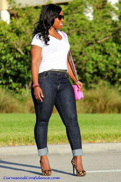 f9842fad8518cc jeans shoulder bag pink crossbody bag denim plus size denim platform pumps  leopard print high heels