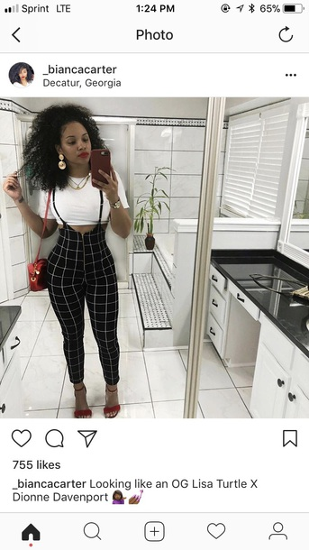 9e2f47def3e3 jumpsuit plaid overalls overalls tight fitted straight pants
