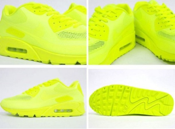 Nike Air Max Yellow Neon