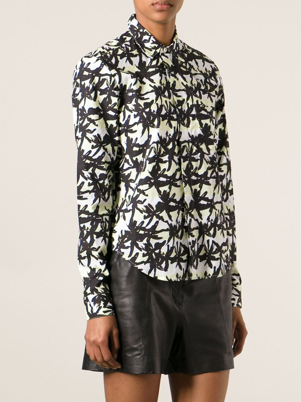 Kenzo Palm Print Shirt - Francis Ferent - Farfetch.com