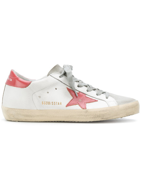 GOLDEN GOOSE DELUXE BRAND women sneakers leather white cotton shoes