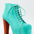 Jeffrey Campbell Lita Turquoise Platform Heel Aqua Mint Women Sz Booty Boot Pump   eBay