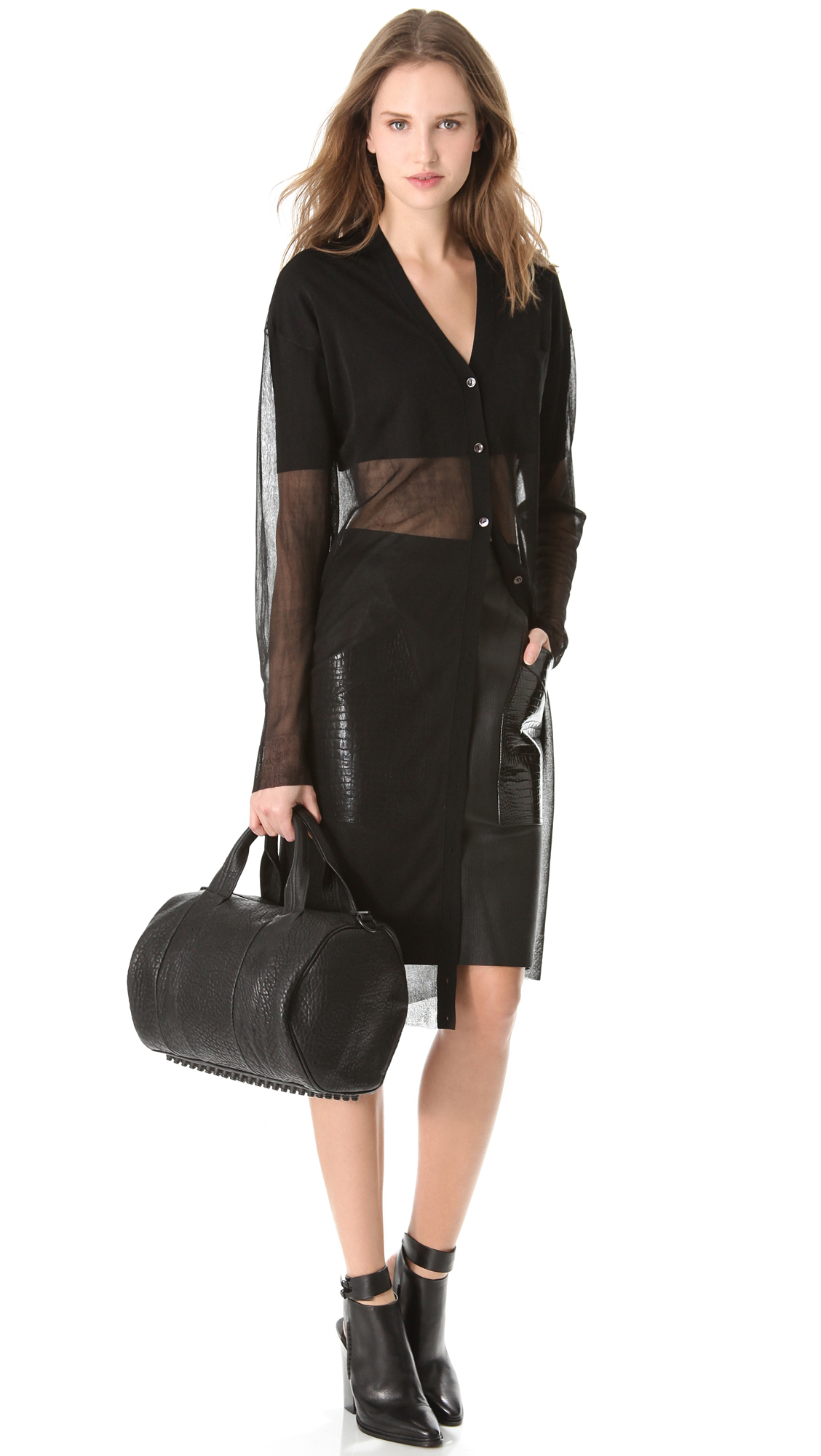 Alexander Wang Rocco Duffel with Black Hardware | SHOPBOP