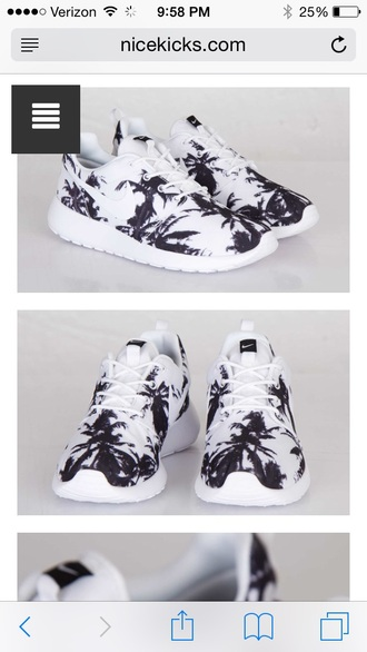 shoes nike roshe runs jordan's shoes palm tree print nike running shoes nike air