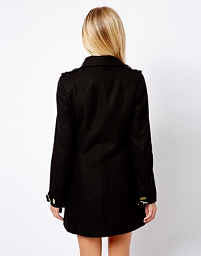 New Look | New Look Double Breasted Coat at ASOS