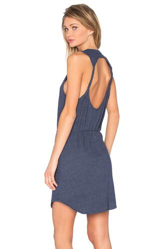 dress mini dress mini back blue