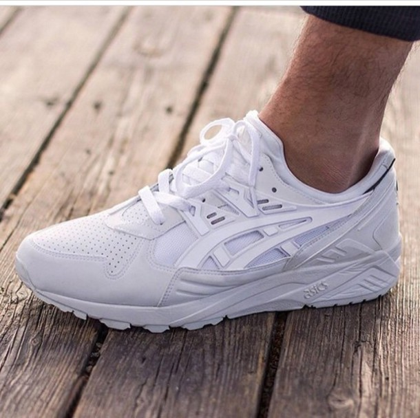 shoes white sneakers sneakers asics asics sneakers asics gel-kayano