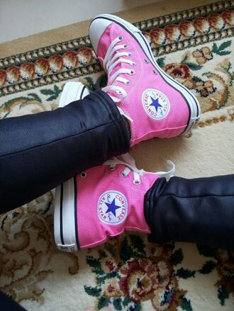 shoes high top converse pink converse canvas shoes women shoes high top shoes high top sneakers casual shoes