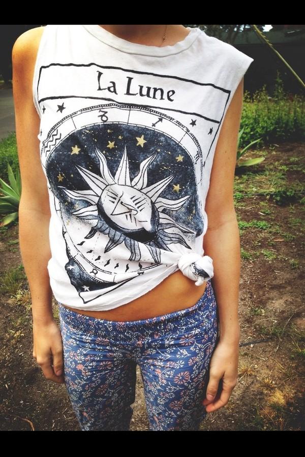 shirt moon luna
