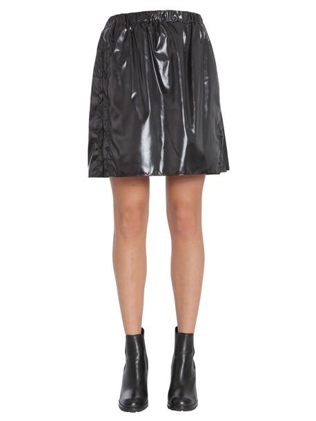 Kenzo Vinyl Skirt in nero