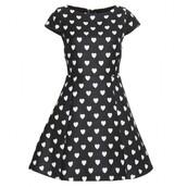 dress,heart,black,white\,cute