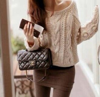 sweater winter sweater style fashion
