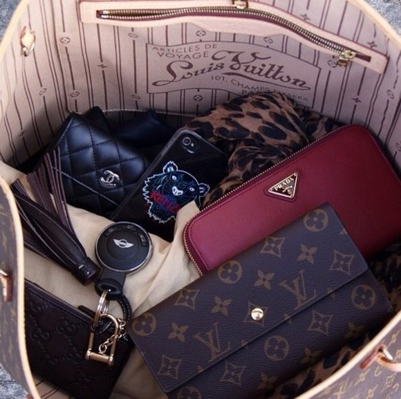 prada louis vuitton chanel bag cute handbags