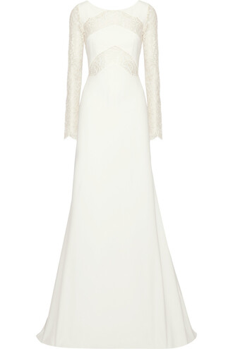 dress long sleeve wedding dress wedding dress rime arodaky