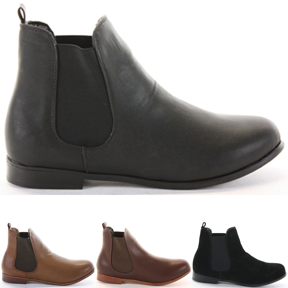 Low Black Ankle Boots | FP Boots