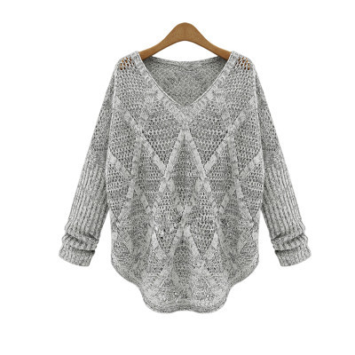 Grey cosy sweater