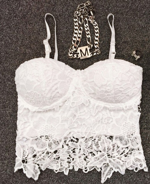 Kylie Sexy Laces Cropped Top (2 colors available) – Glamzelle