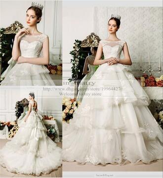dress princess wedding dresses 2016 wedding dresses whhite ivory wedding dresses lace wedding dress
