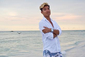 alexander liang blogger shirt shorts jewels